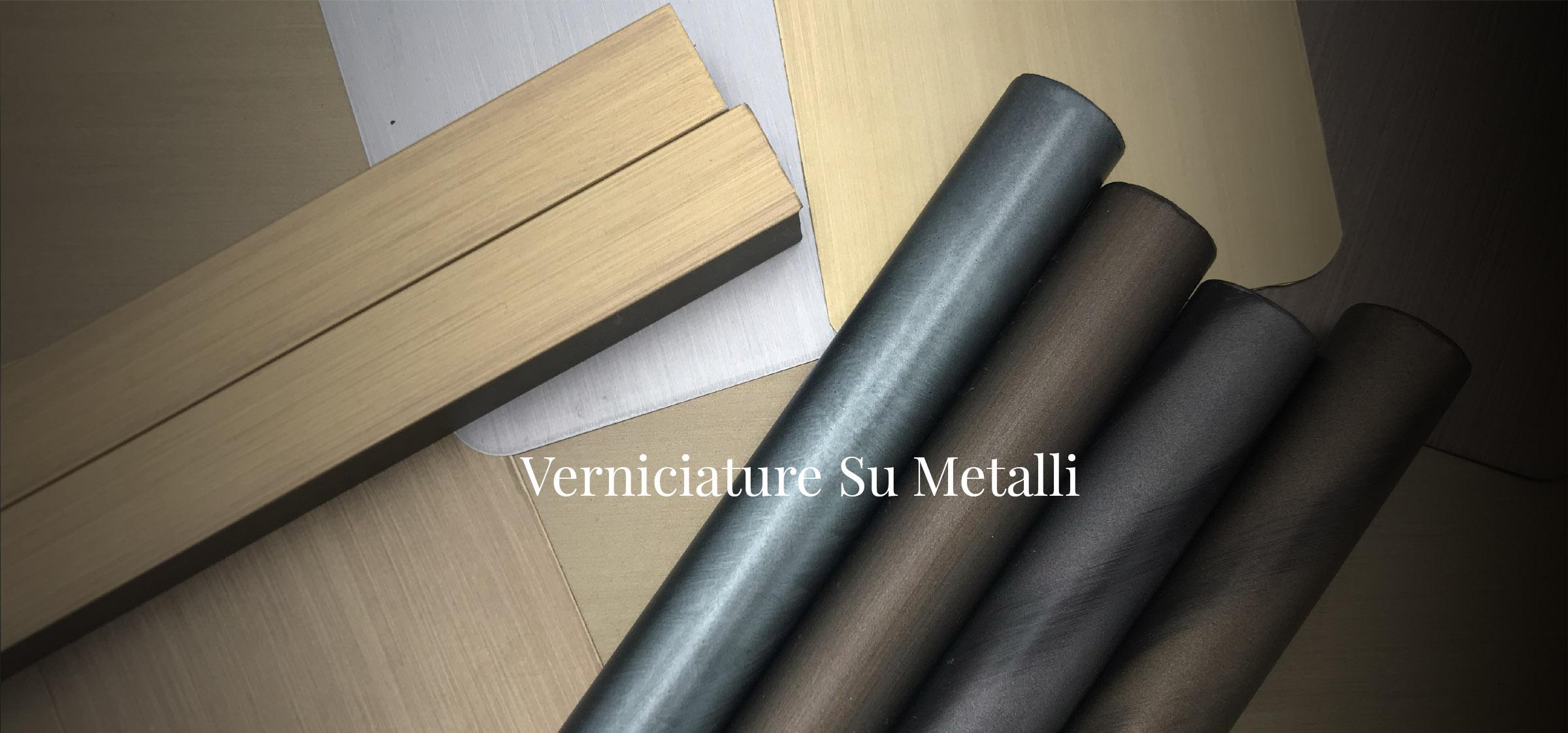 verniciature su metalli